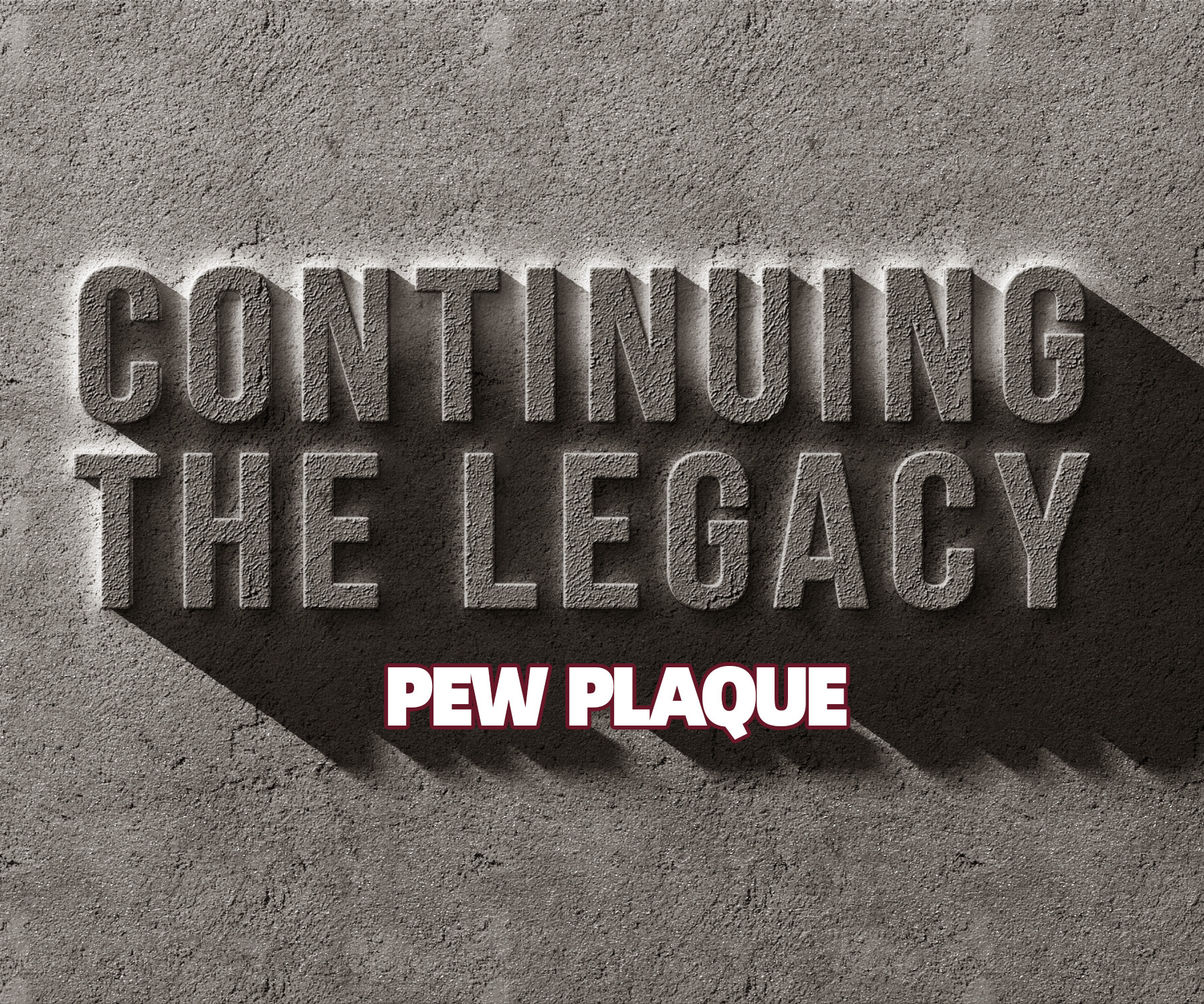 Continuing The Legacy Pew